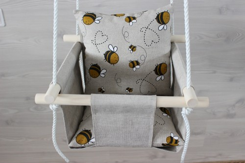 Linen Swing with pillow