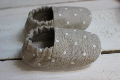 Linen shoes for kids