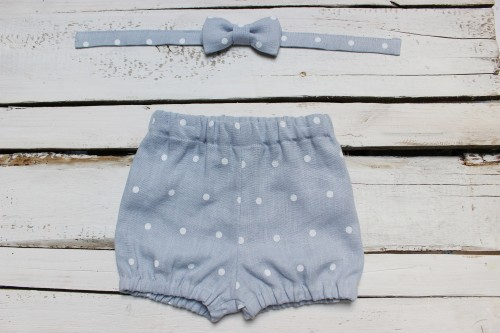 Bloomers and bow tie