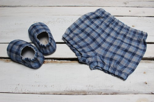 Bloomers and shoes for Baby Boy