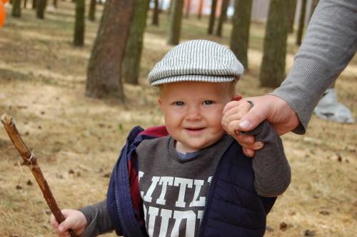 Linen Newsboys hat, Boys Flat Cap, Linen Cap for a boy, 1st birthday Newsboy hat, Natural linen with dark grey striped cap, Toddler Flat Cap