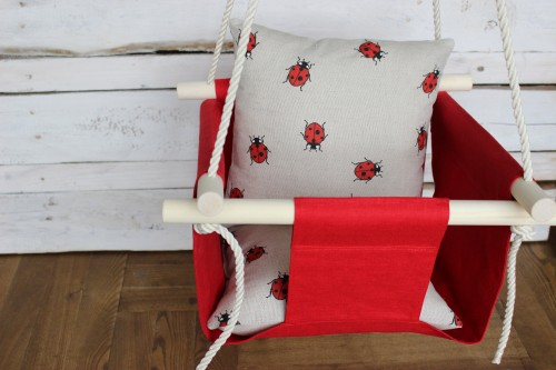 Red Swing for baby